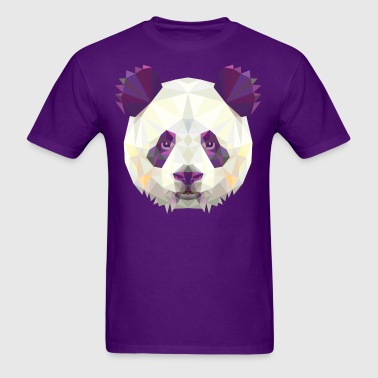 Polygonal Panda - Men's T-Shirt