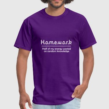 Homework - Men's T-Shirt