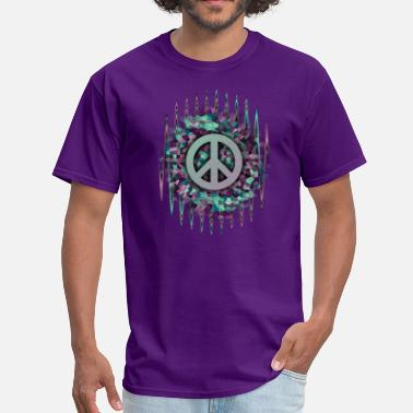 Hippie Music Hippie,Pease,Love,Music - Men's T-Shirt