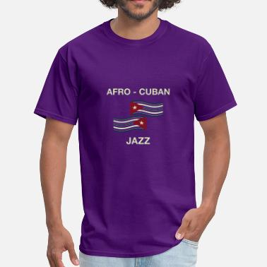 Afro-latino afro cuban jazz - Men's T-Shirt