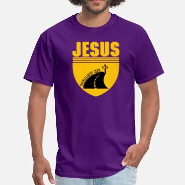 Follow Jesus FOLLOW JESUS - Men's T-Shirt