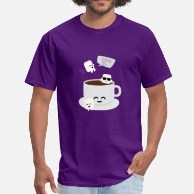 Hot Chocolate Marshmallow Party - Men's T-Shirt