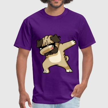 Shade Graffiti Dabbing Pug puppy - Men's T-Shirt
