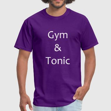 Gym Tonic Fitness Gin Alcohol Muscle Nice Gift Fun - Men's T-Shirt