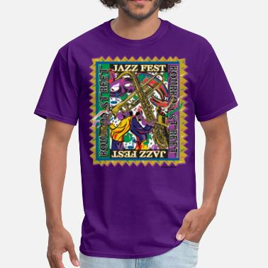New Orleans Trumpet Jazz-Fest - Men's T-Shirt