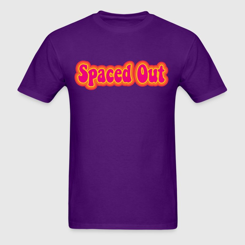 Retro Spaced Out - Men's T-Shirt