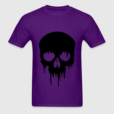 Black Skull dripping - Men's T-Shirt