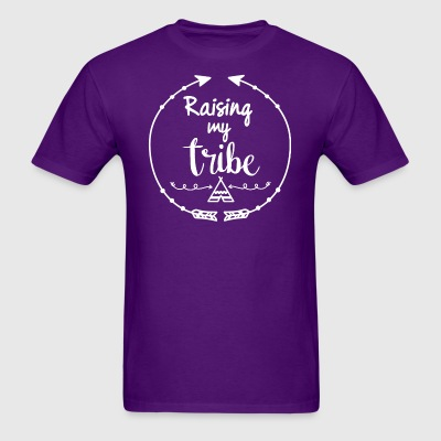 Boho style Raising my tribe - Men's T-Shirt