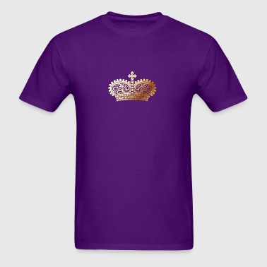 gold Crown shape - Men's T-Shirt