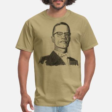 Black History Month Malcolm X - Men's T-Shirt