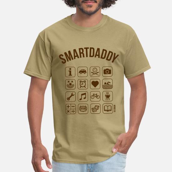 f1332a03 Smartdaddy (Daddy / Dad / SVG) Men's T-Shirt | Spreadshirt