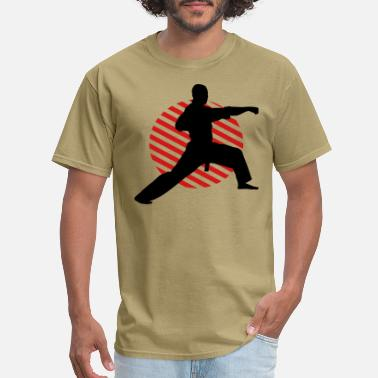 Taekwondo Fight Position Circle 3 2C - Men's T-Shirt