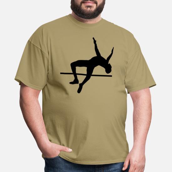 Bronze Edition Pole Vault Highjump High Jumper Evolution T-Shirt S-XXXL
