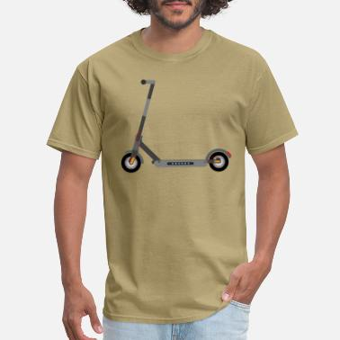 Twowheeled Electric Scooter - Men's T-Shirt