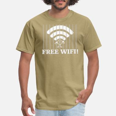 Wifi Kids Free Wifi Gift - Men's T-Shirt