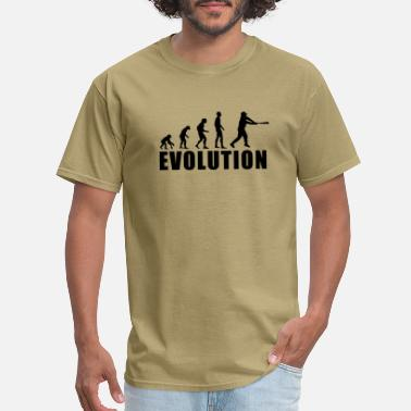 Evolution Of Baseball EVOLUTION BASEBALL - Men's T-Shirt