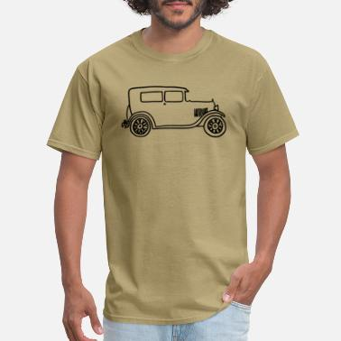 Model Handdrawn Ford Model A - Men's T-Shirt