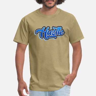 2c98861f Graffiti Font Hustle Graffiti style - Men's T-Shirt