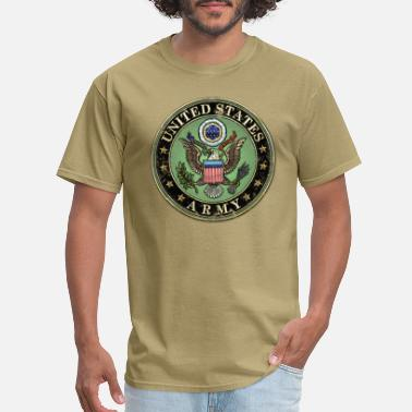 Us Army Seal Worn US Army Seal - Men's T-Shirt
