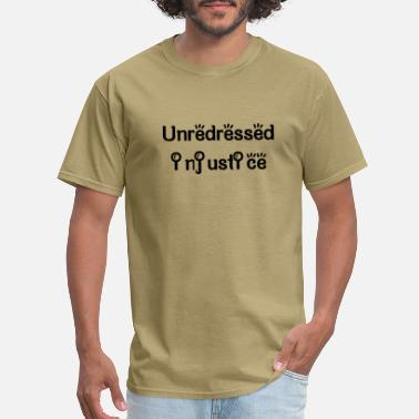 Chinese Chengyu Unredressed injustice - Men's T-Shirt
