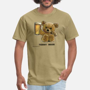 Teddy Teddy Beer - Men's T-Shirt