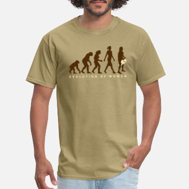 Drummer Clothes Evolution of woman Djembe - Men's T-Shirt