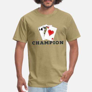 Cards Card Game 45s Champion. - Men's T-Shirt