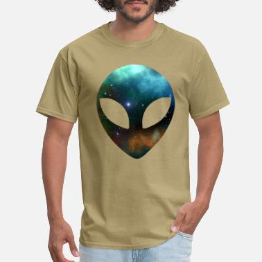 Alien-face Alien Face Alien Head - Men's T-Shirt