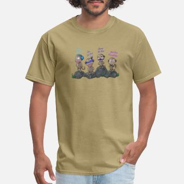 Adult Humour Dirty Little Monkeys - Men's T-Shirt