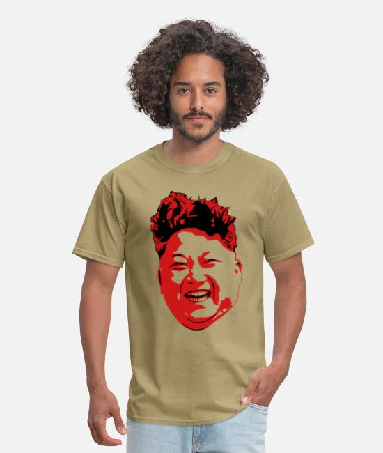 Dotard T-Shirts - Bad hair guy - Men's T-Shirt khaki