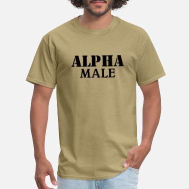 93b6032cb1e1 Shop Alpha Male T-Shirts online | Spreadshirt
