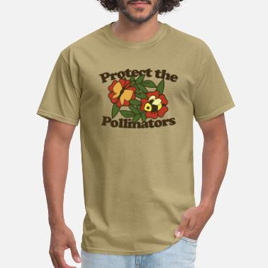 Pollinate Protect the pollinators - Men's T-Shirt