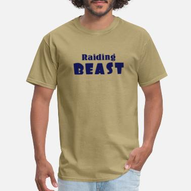 Threadz Raiding Beast - Men's T-Shirt