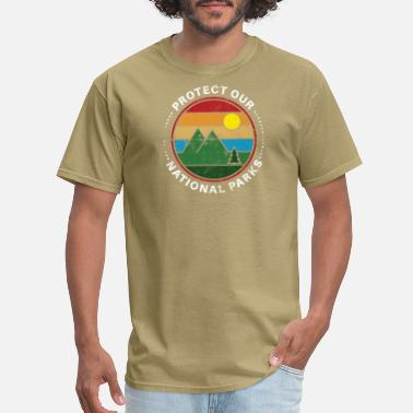 Crater Lake National Park Protect Our National Parks Gift - Men's T-Shirt