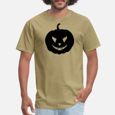 Unfriendly The unfriendly pumpkin - Men's T-Shirt