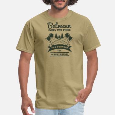5d5765f65 Axe A New World Outdoor Activity Forest T-Shirt - Men's