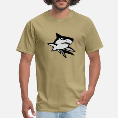 Motif Surfboard Bad Shark motif - Men's T-Shirt