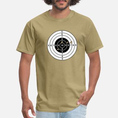 Rifle target - Men's T-Shirt