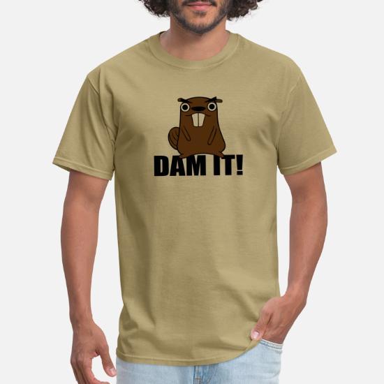 Dam It Beaver Mens Womens Unisex Sweatshirt
