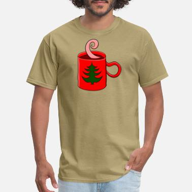 Mulled Wine Mug with mulled wine - Men's T-Shirt