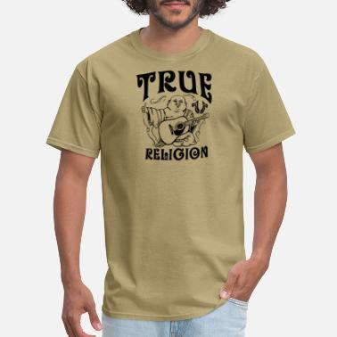 Religion TRUE RELIGION UPFRONT BUDDHA WHITE - Men's T-Shirt