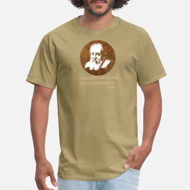 Vincenzo Galileo Galilei gift philosopher Florence Pisa - Men's T-Shirt