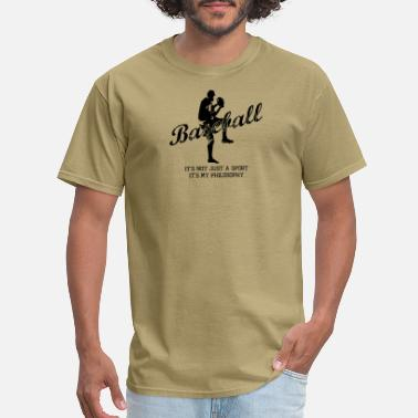Pitcher Baseball Pitcher Sayings - Men's T-Shirt