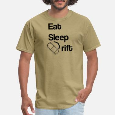 Sleeping Motor Eat Sleep Drift - Men's T-Shirt