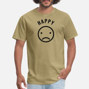 Happy But Sad - Men's T-Shirt