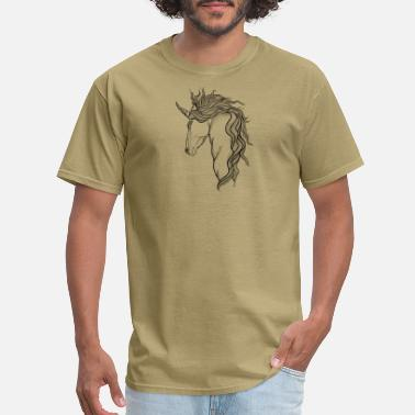 Mythical Mythical Beast A mythical Unicorn - Men's T-Shirt