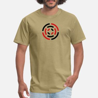Abstract circle sign - Men's T-Shirt