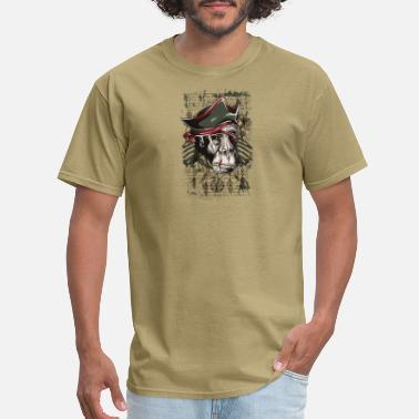 Monkey Vector T Shirt monkey pirate vintage wildlife vector - Men's T-Shirt