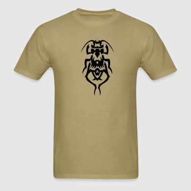 Beetle Tribal Tattoo 2 - Men's T-Shirt