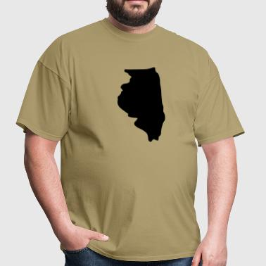 State of Illinois - Men's T-Shirt